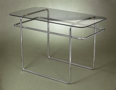 Marcel Breuer. Table, Model B19, ca. 1928 Brooklyn Museum