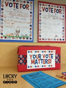 Election Activities in the Classroom! Snag these FREE campaign posters for your students to rally around an issue!