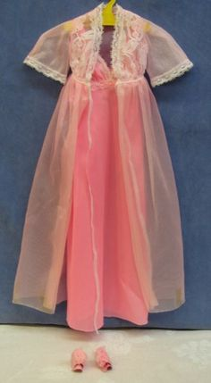 SuperSize Barbie Negligee--not Barbie's most risque outfit, but still lovely.