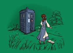 T shirt belle / doctor who