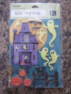 Halloween Dimensional Stickers From Jolee's Boutique And K&company: Haunted…