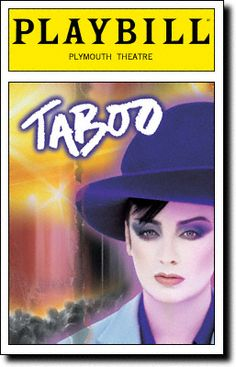 Taboo #Musical #Theatre #Playbill