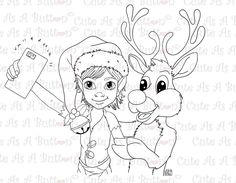 IMG00490 Christmas Selfie Digital Digi Stamp Digital Digi Stamp Cute As A Button Stamps Art/Crafts by Francesca Lopez #candycane #cardmaking #art #artwork #drawing #digi #digistamp #craft #card #cards #copic #lineart #drawing #coloring #biblejournal #biblejournaling #jesus #faith #school #work #bookmarks #bible #winter #holidays  #christmas #anime #manga #summer #fantasy #fairy #sewing #love #wedding #fall #autumn #spring http://cute-as-a-button-stamps.myshopify.com