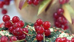 Red Lingonberries are used for all kinds of things such as preserves.
