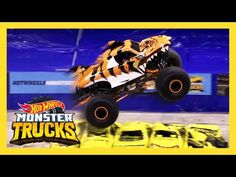 Hot Wheels, Truck Living, Speed Games, Monster Trucks, Shark, Monsters, Meet, Live, Miniatures