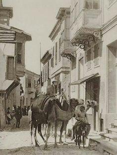 Everyday life scene at the Greek quarter, Smyrna. Monuments, Street Art, Travel General, Frederic, Slow Travel, Europe, Southern Italy, Turkey Travel, Ottoman Empire