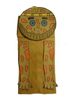 paper bag crafts, exodus crafts