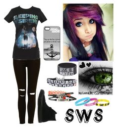 """""""If you cant hang"""" by angel-of-darkness6 ❤ liked on Polyvore featuring Converse and Herz"""