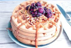 It's so easy today to purchase any premade gluten-free waffle mix and 'veganize' it by substituting the eggs for flax or chia eggs, for instance. But if you are trying to avoid processed foods, the following recipe calls for only whole ingredients for the flour base: ground oats and almonds. The use of ripe bananas instead of flax or chia seeds gives it a naturally sweet taste and the aquafaba gives it that extra fluffiness.
