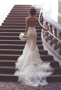 Cheap modern wedding gown, Buy Quality wedding gowns directly from China backless wedding dress Suppliers: Lace Mermaid Sexy Backless Wedding Dress vestidos de novia robe de mariee Modern Wedding Gowns Wedding Robe, Wedding Attire, Lace Wedding, Mermaid Wedding, Lace Mermaid, Mermaid Sweetheart, Wedding Ceremony, White Tie Wedding, Gatsby Wedding Dress