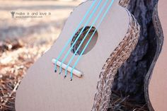 The 'MISTER Make It and Love It' Series: Cardboard Guitars   Make It and Love It