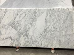 Calacatta Statuario Marble, polished, block no 1320. EOFY sale! Available at Marable Slab House in Sydney #marable #marble #calacatta