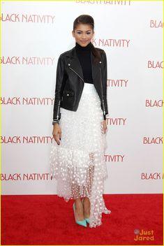SAIA Zendaya: 'Black Nativity' NYC Premiere | zendaya black nativity nyc premiere 01 - Photo