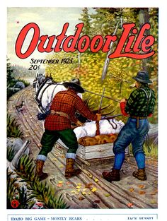 Vintage February 1945 Outdoor Life Magazine Hunting