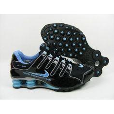 meet f72d1 3f6bf Nike Shox NZ Carving Black Blue Silver Men Shoes  47.00