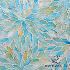 Beau Monde Glass, Blossom  This is so beautiful - would love to tile a shower in this