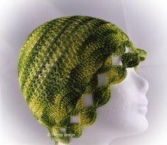 MärzBlatt - Kopfschmuck - elegante Beanie - Mütze von ULeMo de casquettes, chapeaux, sacs et plus auf DaWanda.com