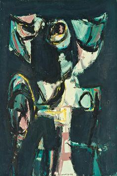 Emerson Woelffer,Figure