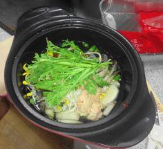 Homeplus Korean Spicy Seafood Stew Top with Vegetables