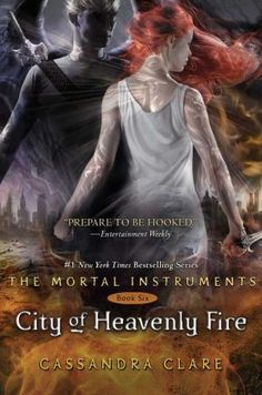 Yes, it's THIS BOOK. Highly anticipated- (understatement)- Mortal Instruments Book #6 City of Heavenly Fire is a book I doubt anyone wouldn't want to get early but we'll just have to settle for May 27th