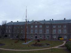 Commandementsgebouw in Den Helder.
