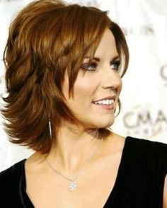 ... woman layered bob hairstyles over 50 ...
