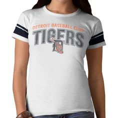 Detroit Tigers '47 Women's Game Time II T-Shirt - White - $29.99