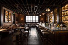 ©Alicia Cho - The Chestnut Club, Santa Monica. Cocktail bar interior.