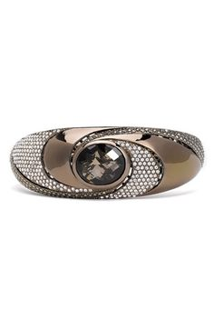 Free shipping and returns on Judith Jack 'Twister' Stone Bangle at Nordstrom.com. Decadent swirls of marcasite and crystal pavé illuminate a smoky quartz stone topping an ultra-modern bangle plated in chocolate gold.