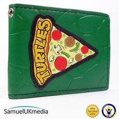 New #official teenage mutant #ninja turtles tmnt pepperoni #pizza bi-fold wallet, View more on the LINK: http://www.zeppy.io/product/gb/2/161722594702/
