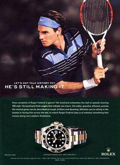 GMT-Master II and Roger Federer