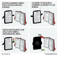 El libro vs el ebook
