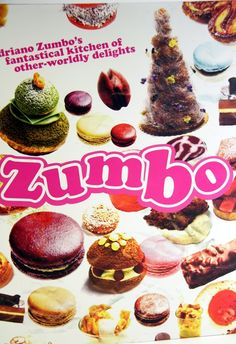 Waiting for the Zumbo Book to arrive in my mailbox so I can unleash the sweet goodness inside