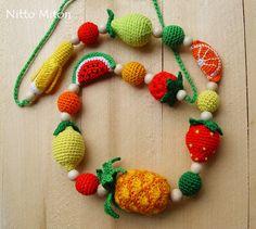 Nursing necklace Teething necklace Babywearing crochet necklace Breastfeeding new baby Crochet wooden beads Nursing jewelry Shower gift
