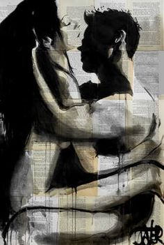 "Saatchi Art Artist Loui Jover; Drawing, ""endlessly"" #art"