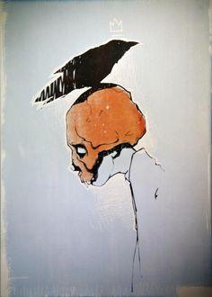 "Przemek Blejzyk - ""Skullboy"" #silkscreen #print"