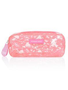 Jelly Lace Small Cosmetics Bag - Victoria's Secret - Victoria's Secret
