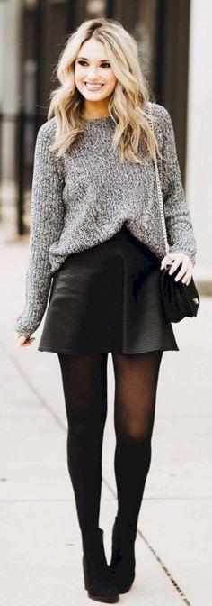 Winter Outfits - Das 50 perfekte Outfit für kalt Wetter #kaltemWetter #damenmode
