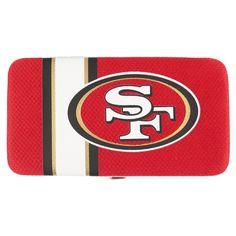 NFL San Francisco 49ers Shell Mesh Wallet, Women's