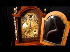 Ending today this Warmink Oak Bracket Clock. Rolling Moon Phase 1973  http://www.ebay.co.uk/itm/370955379048?ssPageName=STRK:MESELX:IT&_trksid=p3984.m1558.l2649