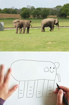 """Juxtapoz Magazine - Father Brings His Kid's Drawings to """"Life"""""""