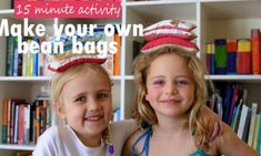 Homemade bean bags and 3 games to play with them | Kidspot