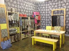 The showroom in a quick view. Cape Town, Wardrobe Rack, Showroom, Loft, Bed, Fabrics, Furniture, Google Search, Design