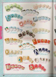 My little world of polish by Lily Nail: japanese nail art magazine