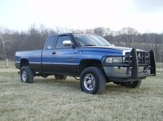 Dodge Ram blue slightly lifted Dodge Ram 2500 Cummins, 2nd Gen Cummins, Dodge Ram Lifted, Dodge Ram Diesel, Dodge Ram Pickup, Ram Trucks, Dodge Trucks, Cool Trucks, Lifted Trucks