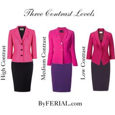 Three Contrast Levels by byferial on Polyvore featuring Giorgio Armani, Precis Petite and Havren