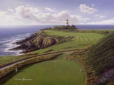 Old Head, Kinsale, Ireland. A peninsula very close to Heaven. Ireland Golf Trip 2002