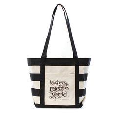 Tote Bags For Teachers Inexpensive Cute Teacher Peach