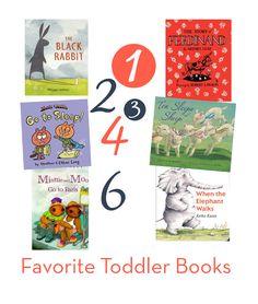 6 Favorite Toddler Books