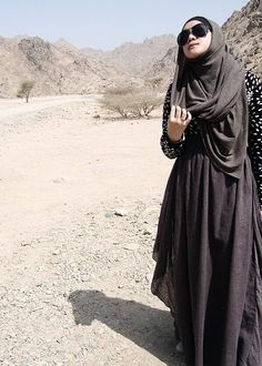 Islamic fashion, modern yet still modest.